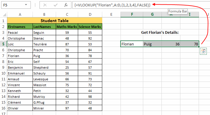 Excel VLOOKUP Massive Guide with 8 Examples – Vlookup Multiple Worksheets