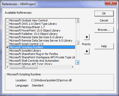 FileSystemObject in VBA – Explained