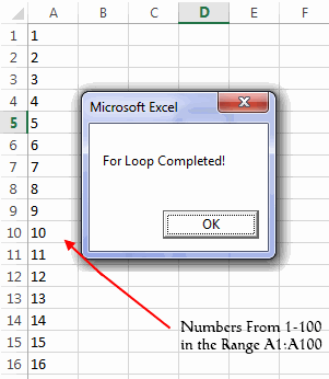 VBA Loops - For, For Each, Do While and Do Until Loops