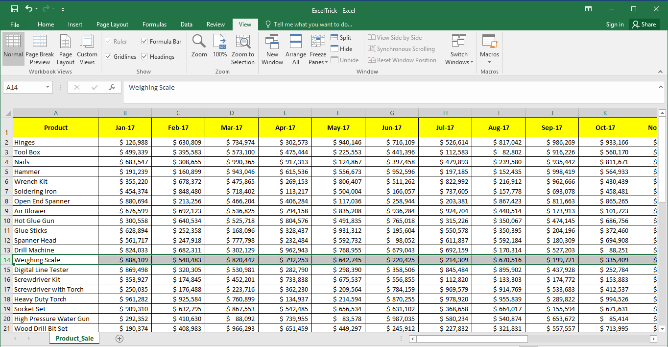 ms excel freeze panes greyed out